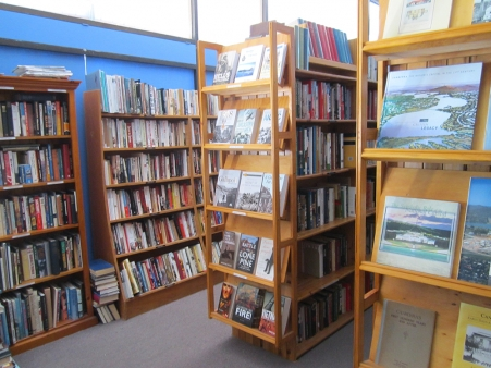 Australian book shop, Alexander Fax Bookseller shop